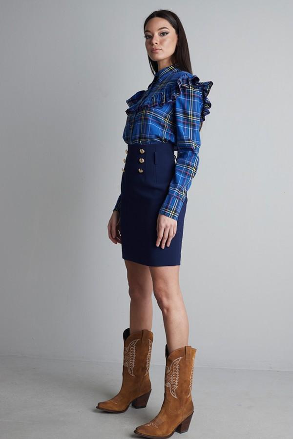 Falda cintura alta EBRO