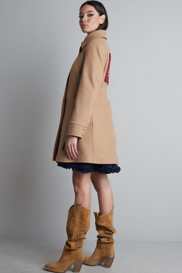 Abrigo tablas paño