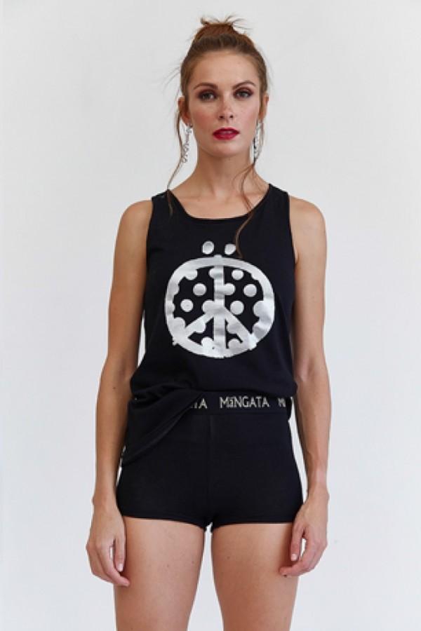 Camiseta tirantes PEACE